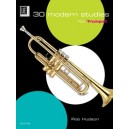 Hudson 30 Modern Studies for Trumpet