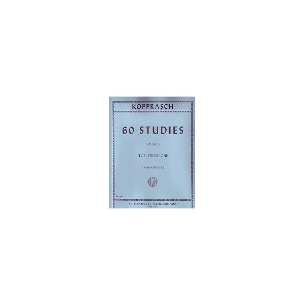 Kopprasch 60 Studies for Trombone Volume 1