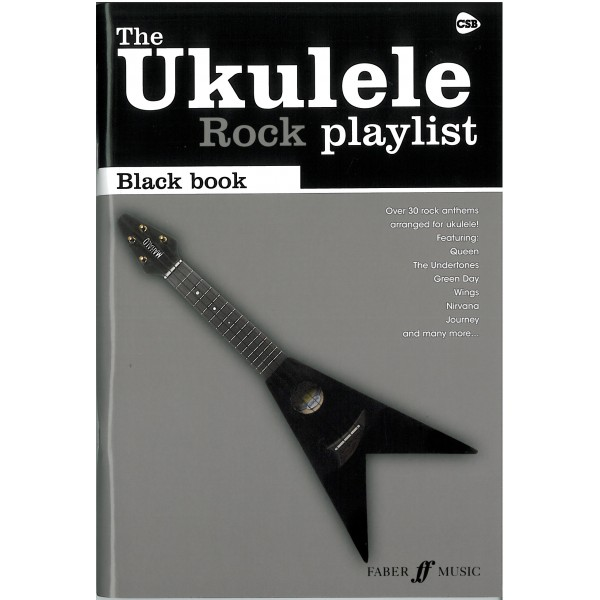 Various - Ukulele Rock Playlist Black Book
