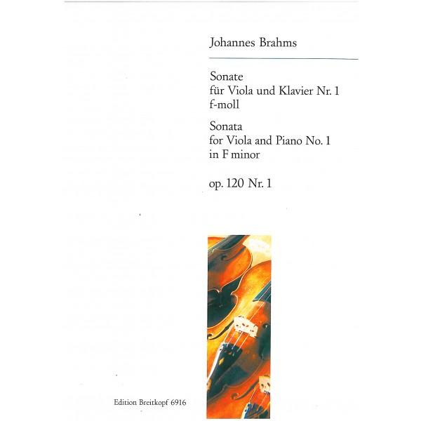 Brahms - Sonata for Viola and Piano No. 1
