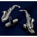 Saxophone Cufflinks