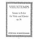 Vieuxtemps, Henri - Sonata in Bb, op 36