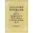 Winkler, Alexander - Deux Morceaux, op 31