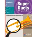 Super Duets for Trombone (Philip Sparke)  BClef