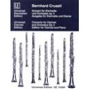 Concerto Opus 5 for clarinet and orchestra edition for Clarinet and Piano by Crusell