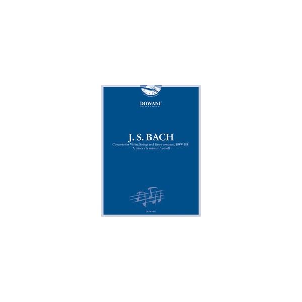 Bach, J S - Violin Concerto in A minor BWV1041