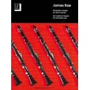 40 Modern Studies in contemporary styles for clarinet by James Rae
