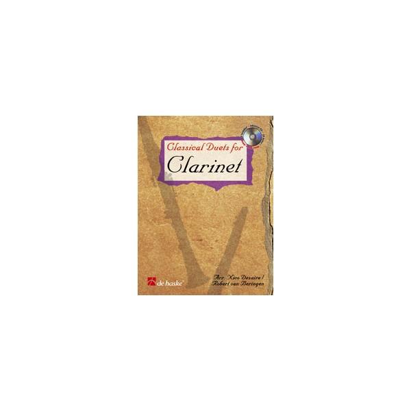 Classical Duets for Clarinet arr Dezaire & Beringen