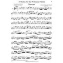 J.S. Bach 33 Solos for the virtuoso flautist