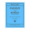 Mozart Andante in C major K315 and Rondo in D major KAnh184 for Flute and Piano