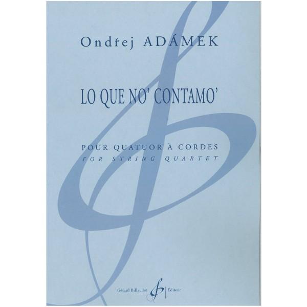 Adamek, Ondrej - Lo Que No' Contamo'