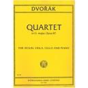 Dvorak, Antonin - Piano Quartet in Eb Opus 87