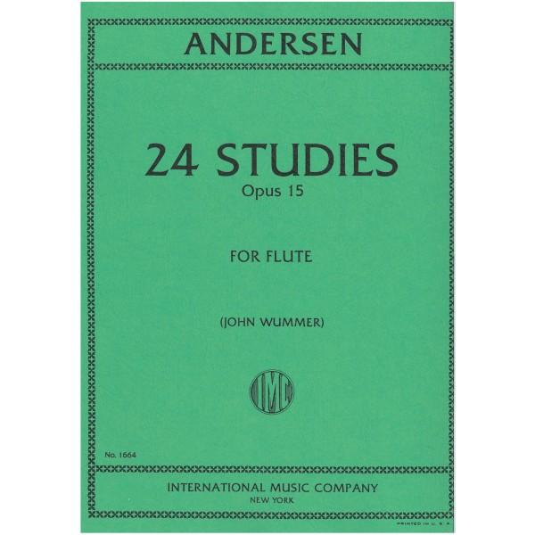 Anderson, Joachim - 24 Flute Studies