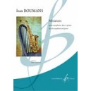 Boumans, Ivan - Miniatures pour saxophone alto et piano