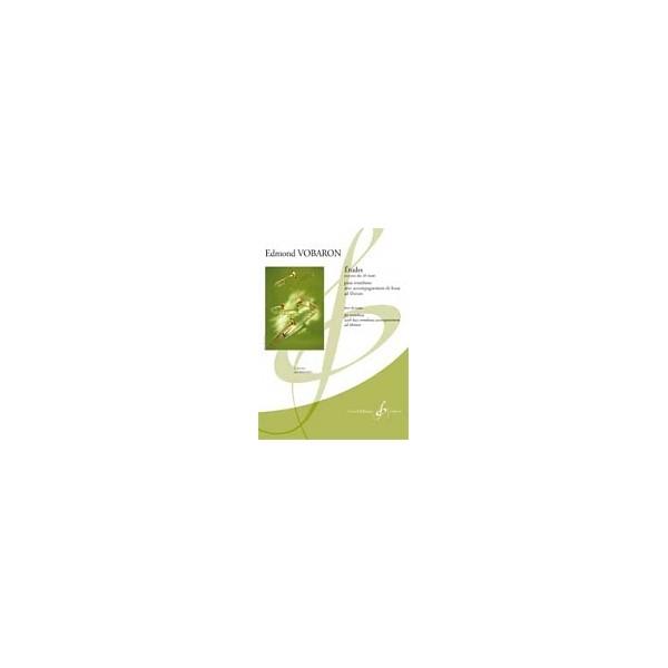 Vobaron, Edmond - Études pour trombone