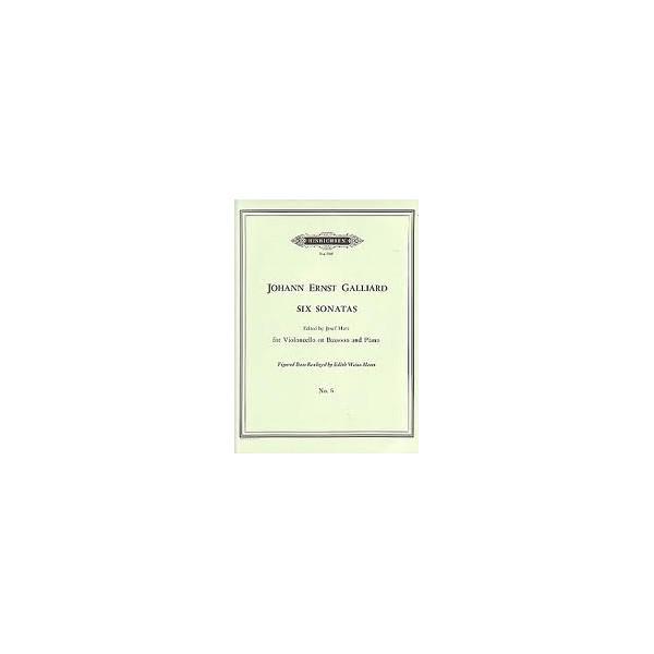 Galliard Sonata No. 6 in C major