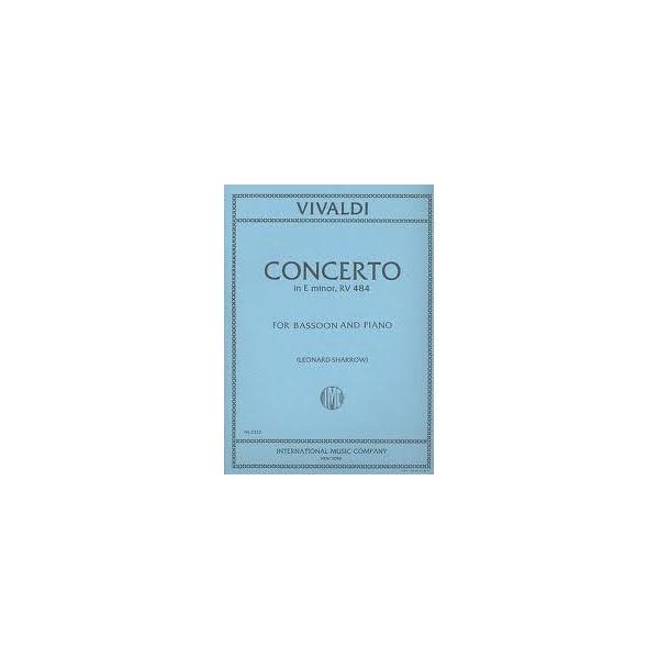 Vivaldi Concerto in E minor for Bassoon RV484