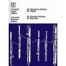 30 Classical Studies for Bassoon edited by Waterhouse