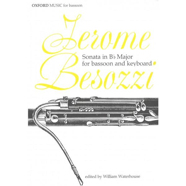 Besozzi Sonata in B flat major for Bassoon