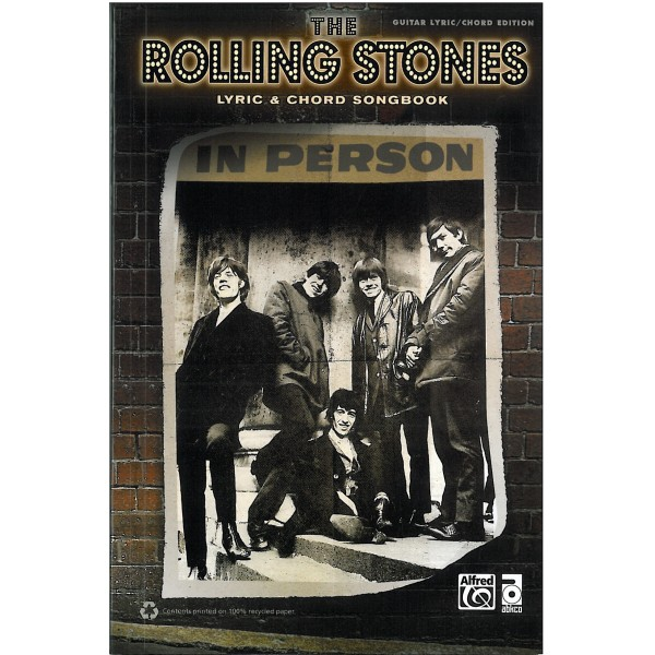 The Rolling Stones, Lyric and Chord Songbook