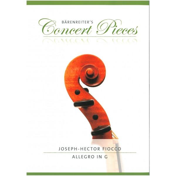 Fiocco, Joseph-Hector - Allegro in G