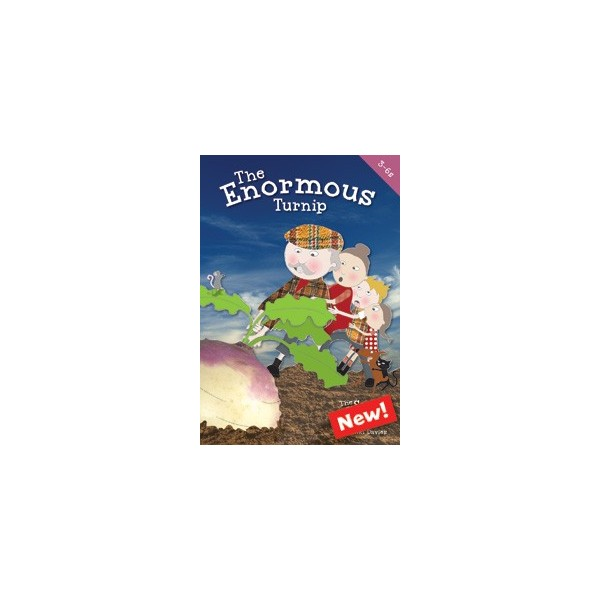 The Enormous Turnip  by Niki Davies  Ages: 3-6 years