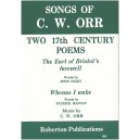 Orr, C W - Two 17th Century Poems