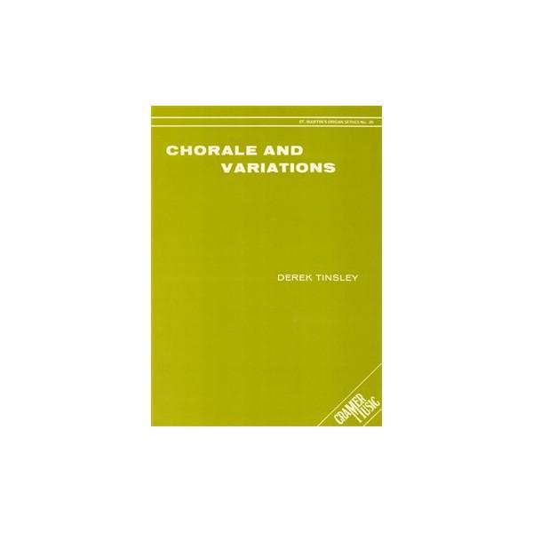 Tinsley, Derek - Chorale & Variations (Organ Solo)