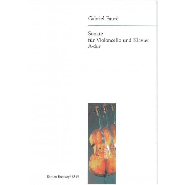 Faure, Gabriel - Sonata in A major, op. 13