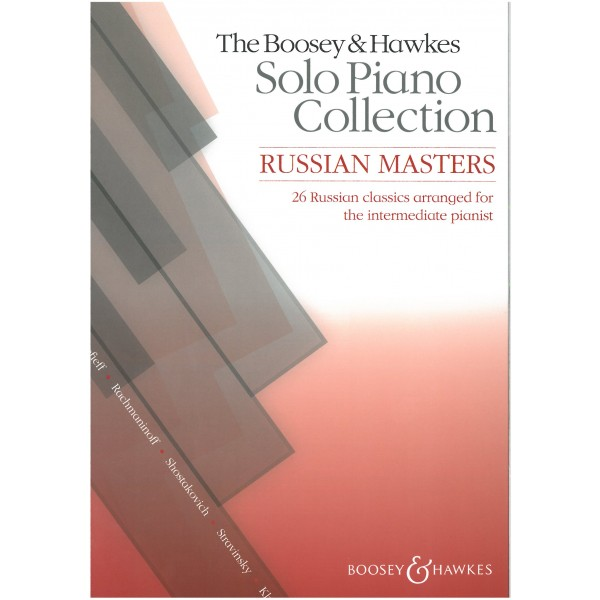 Boosey & Hawkes Russian Masters Solo Piano Collection