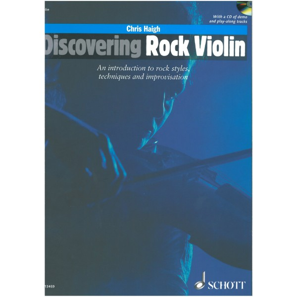 Haigh, CHris - Discovering Rock Violin