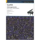 Gurlitt, Cornelius - Hours of Rest for piano duet, op 102