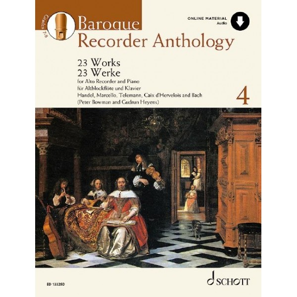 Baroque Recorder Anthology - Volume Four (Includes Audio Download)