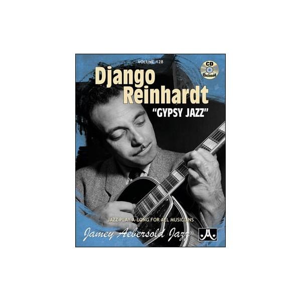 "Aebersold: Django Reinhardt ""Gypsy Jazz"" Vol 128"