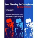 Fishman, Greg - Jazz Phrasing for Saxophone Vol. 1