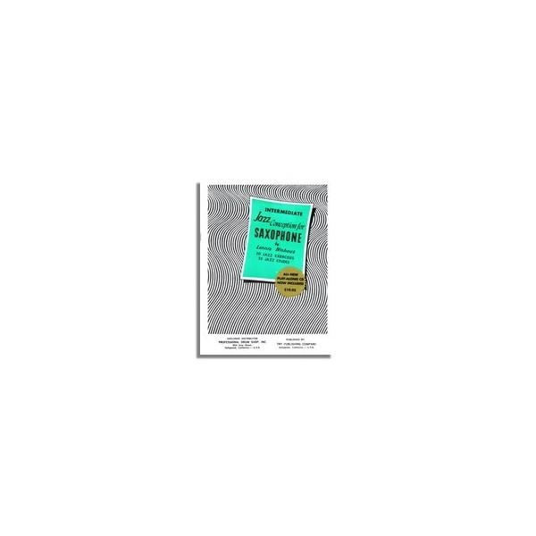 NIEHAUS ADVANCED JAZZ CONCEPTION SAXOPHONE Bk /& CD