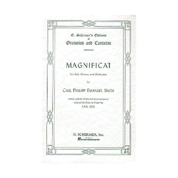 C.P.E. Bach: Magnificat (Vocal Score) - Bach, Carl Philipp Emanuel (Composer)