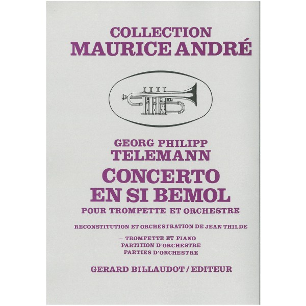 Telemann, G P - Trumpet Concerto in Bb