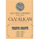 Alkan, Charles-Valentin - Trente Chants (piano)