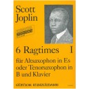 Joplin, Scott - Six Ragtimes for Saxophone