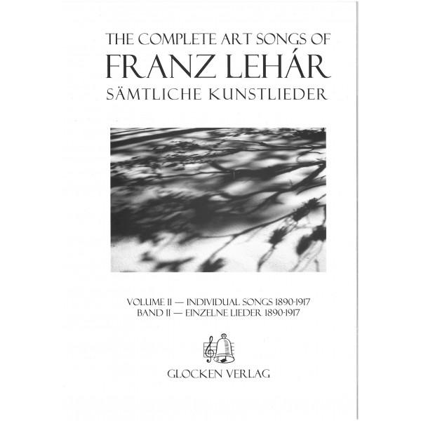 Lehar, Franz - Complete Art Songs Volume Two