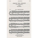 G.F. Handel: Coronation Anthem No.1 Zadok The Priest (SATB) - Handel, George Frideric (Composer)