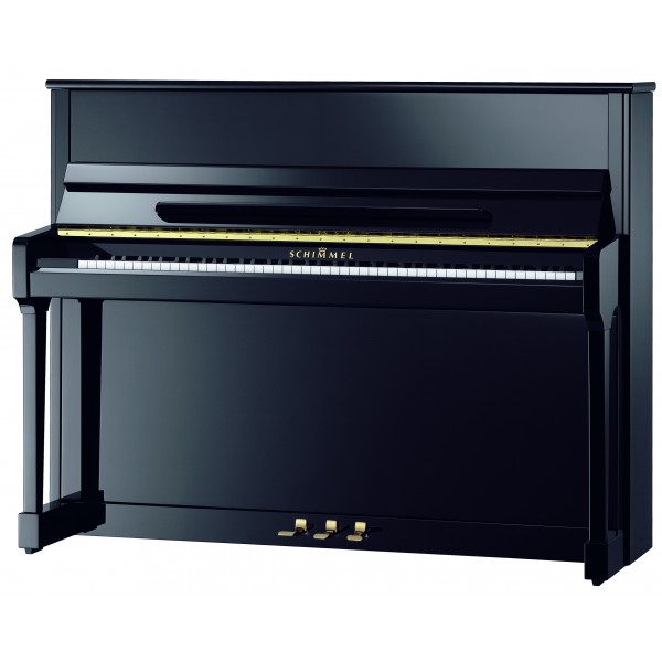Schimmel C116T Black Polyester Upright Piano