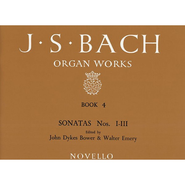 J.S. Bach: Organ Works Book 4 - Bach, Johann Sebastian (Composer)