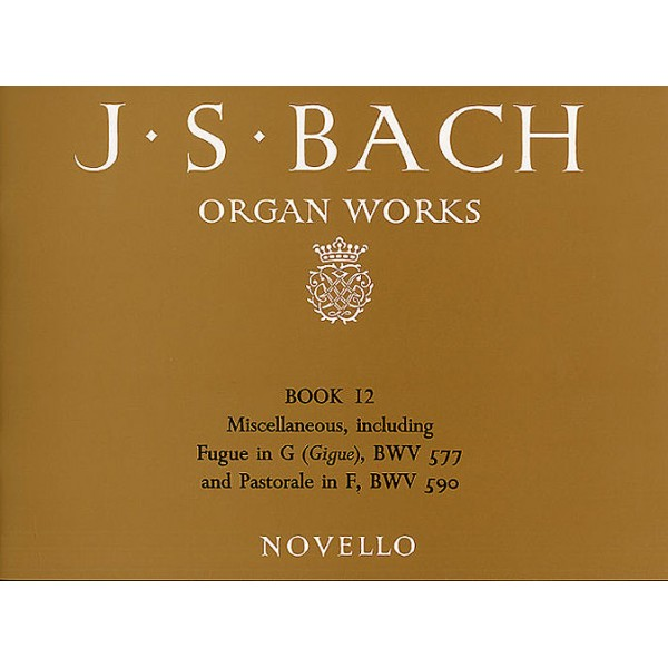 J.S. Bach: Organ Works Book 12 - Bach, Johann Sebastian (Artist)