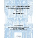 English Organ Music Volume Three: The John Reading Manuscripts At Dulwich College - Langley, Robin (Editor)