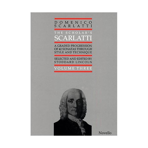 Domenico Scarlatti: Scholars Scarlatti Volume Three - Scarlatti, Domenico (Artist)