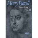 Purcell, Henry - Solo Songs Volume III
