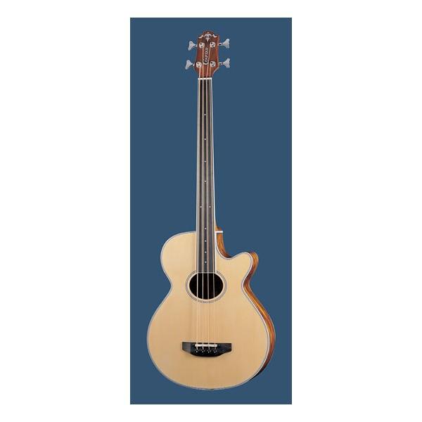 Crafter BA-400EQ-FL Fretless Acoustic Bass