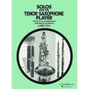 Solos For The Tenor Saxophone Player - 0